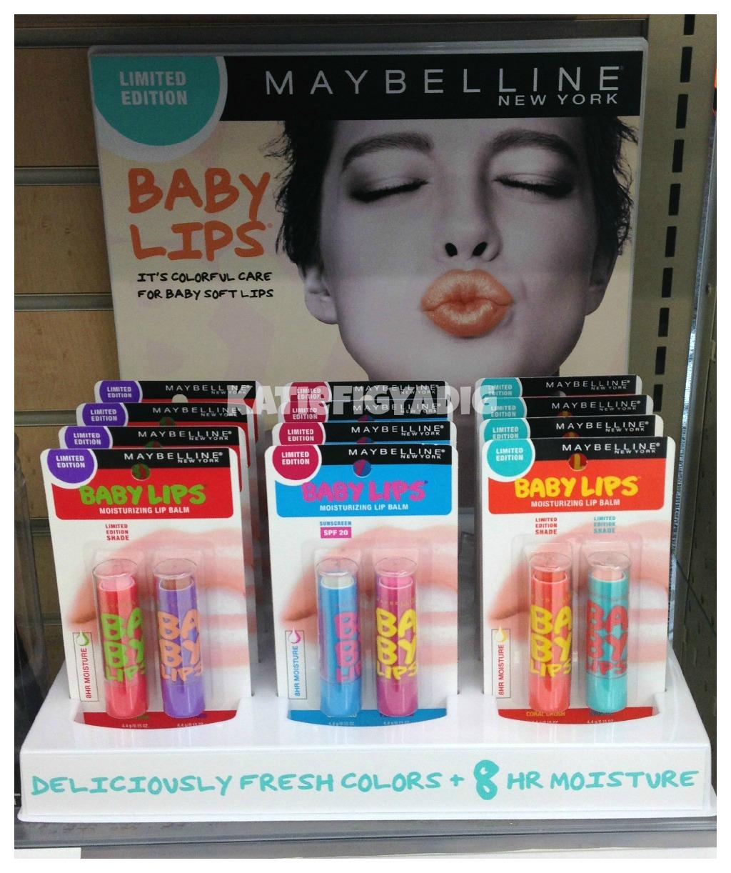 Maybelline baby lips lip balms the beauty type.