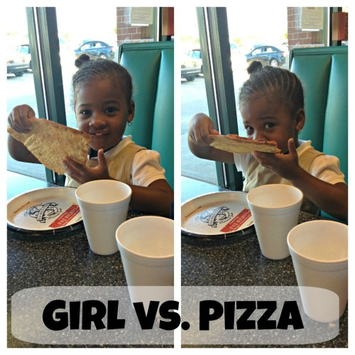 Girl vs. Pizza