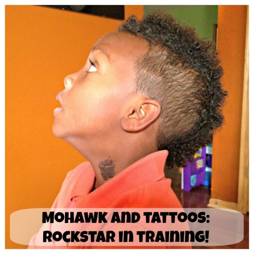 Mohawk and Tattoo