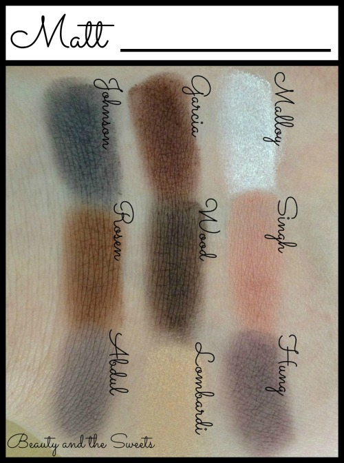 Meet Matte Nude Swatches