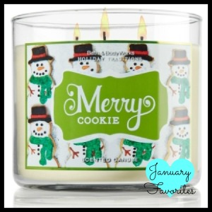 Merry Cookie Candle
