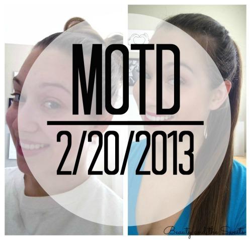 MOTD 2-20-2013 Blog