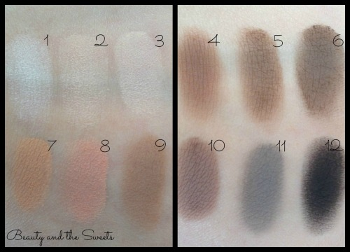 Sonia Kashuk Eye on Neutral Palette Swatches