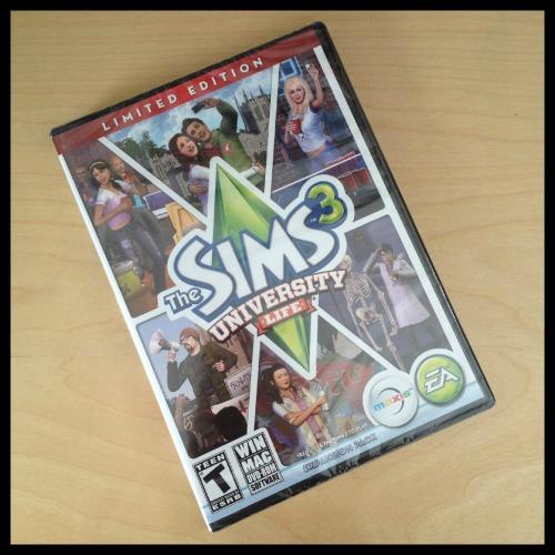 Target Haul - Sims3 University Life