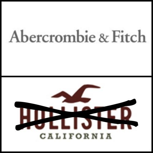 Abercrombie atau Hollister