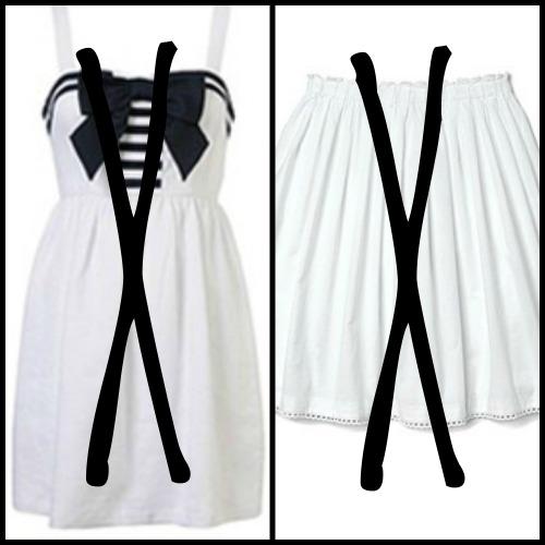 gaun atau baju
