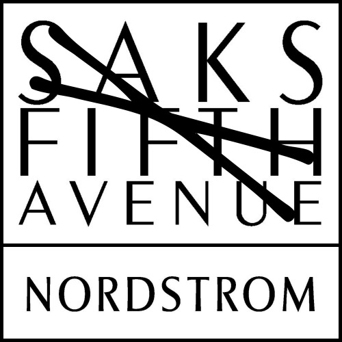Nordstrom atau Saks Fifth ave