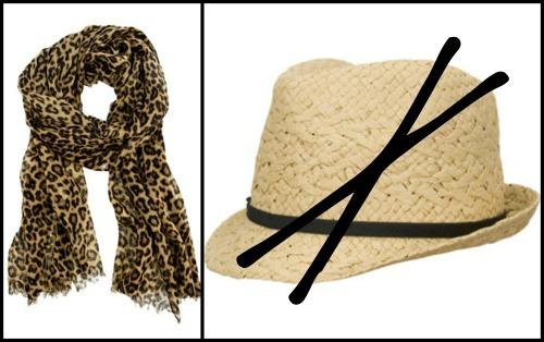 syal atau topi
