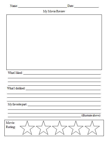 English Teaching Worksheets: Film Reviews