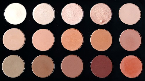 MAC Palette 1 Shades